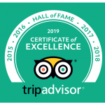 Trip Advisor Hall of Fame Award for Boutique Tours of North Wales